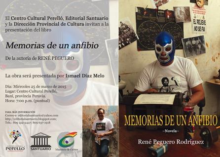 Invitación MEMORIA DE UN ANFIBIO... Baní