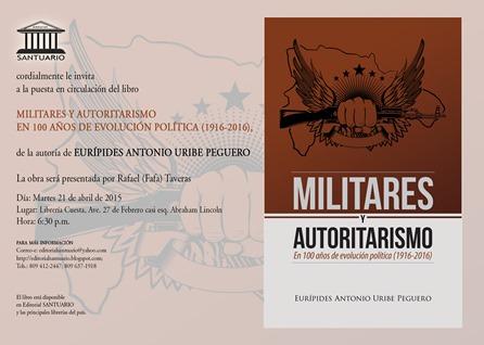 Invitación Militares y autoritarismo