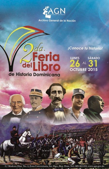 Afiche promocional Feria del Libro, 2015