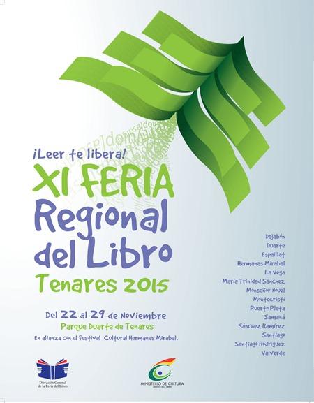 Feria regional del libro tenares 2015