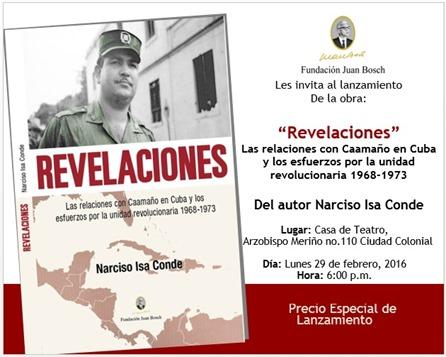 Invitación Revelaciones.