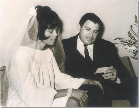 Norma Santana y Marcio Veloz Maggiolo