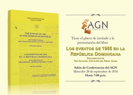 Invitación,Los eventos del 65
