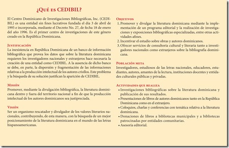 Catalogo CEDIBIL (interior)
