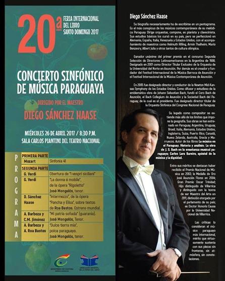 Concierto sinfónico de música paraguaya