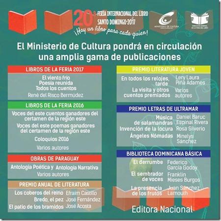 FeriaInternacionaldellibroElMinisteirodeCultura