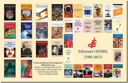 Publicaciones de CEDIBIL   (1995-2017)