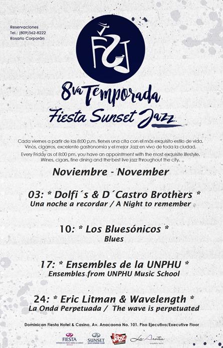 Jazz los viernes de noviembre buenalectura - Mes noviembre 2017 ...