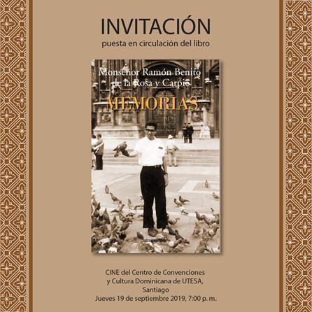 2019 09 17 Invitación Libro MEMORIAS