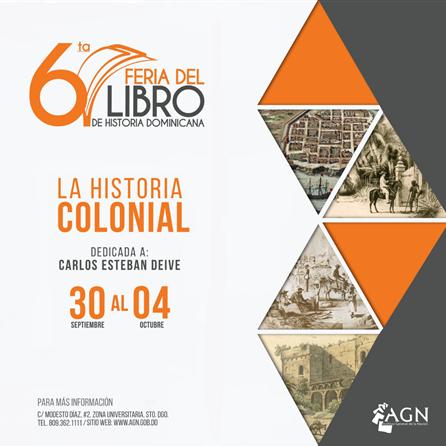 Afiche 6ta Feria del Libro de Historia IG