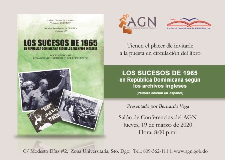Invitación - Los sucesos de 1965 en República Dominicana (2)